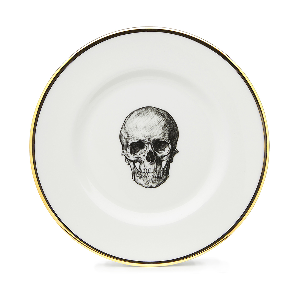 Melody Rose Skull Side Plate